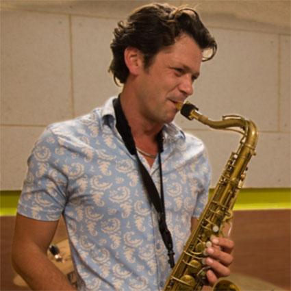 Marijn Freeve saxofoon docent