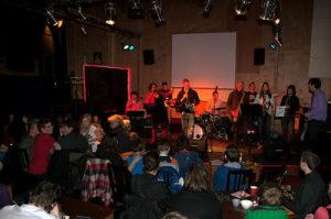 Muziek sessie mzuzieklesgroningen