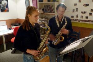 saxofoon les muziekles groningen